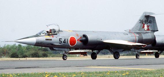 201 Sqn F-104J 1982