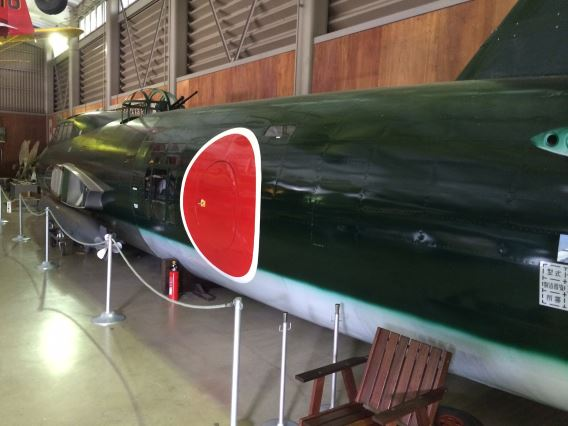 Kawaguchiko G4M2 fuselage2