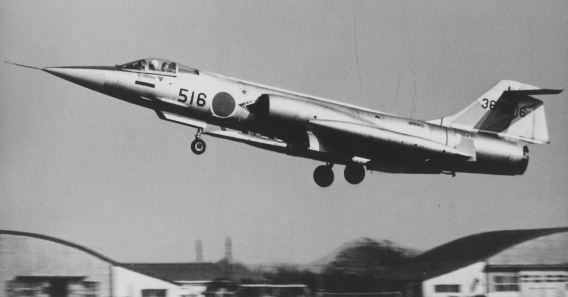 204 sqn F-104J b&w