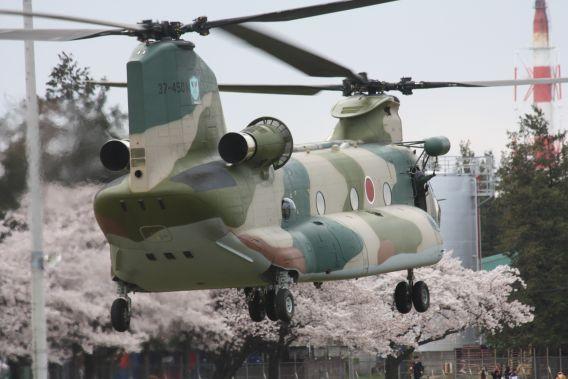 Kumagaya CH-47J 2