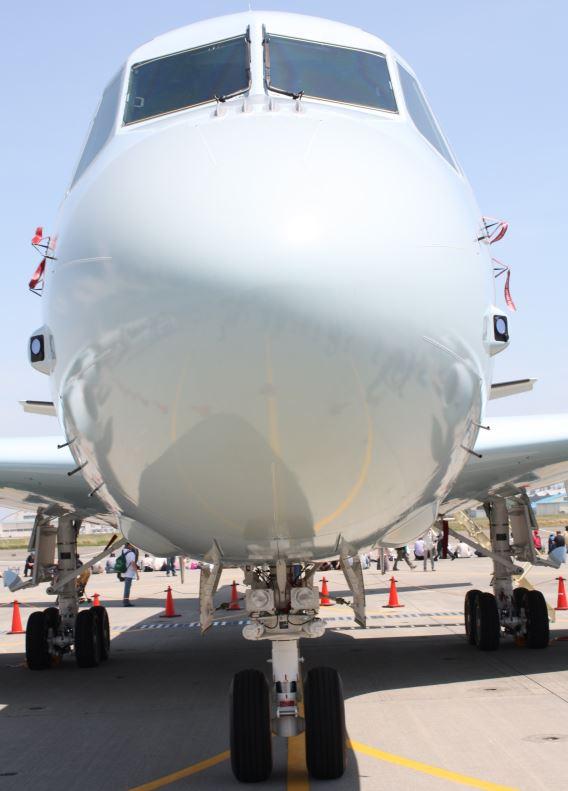 JMSDF P-1 head-on