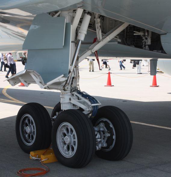 JMSDF P-1 undercarriage