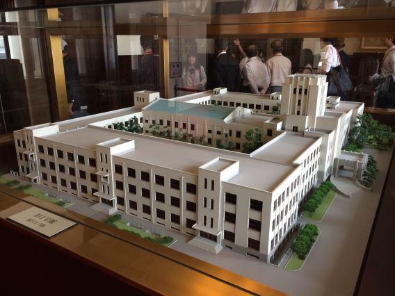 Building No. 1 model