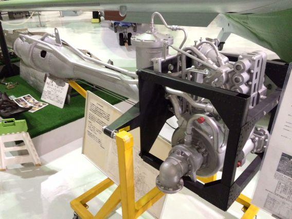 Shusui rocket motor