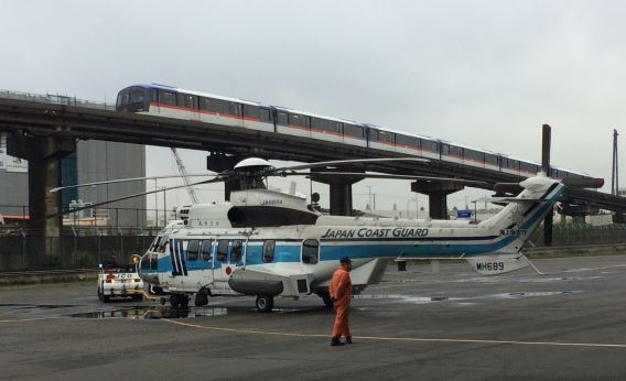 JCG Haneda and monorail