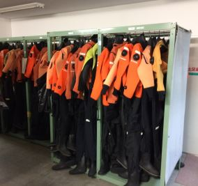 JCG SRT diving suits