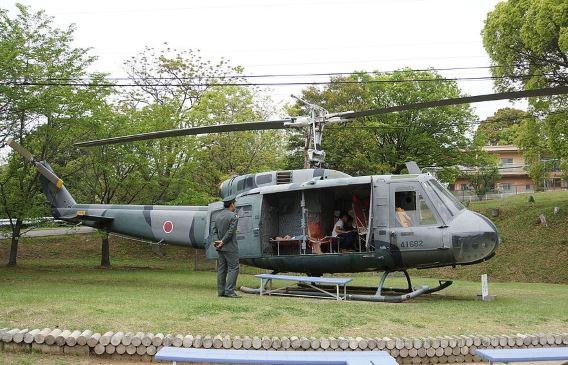 JGSDF UH-1H Shinodayama