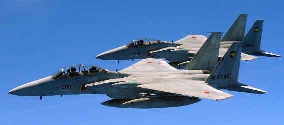 306 Sqn F-15s