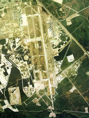Aerial view Chitose 1975