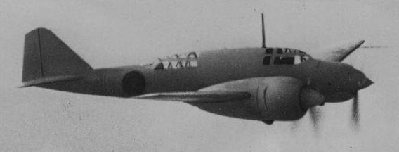 Shimoshizu Ki-46 Dinah