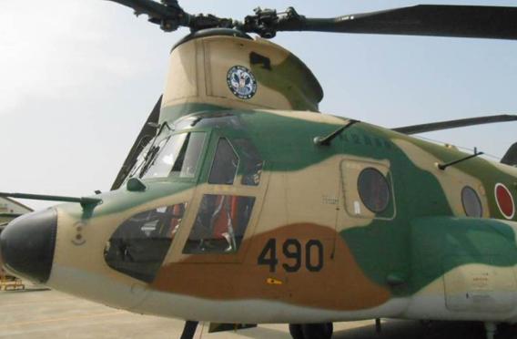 CH-47J ARW 60th logo