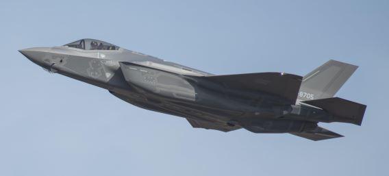 JASDF F-35A over Misawa