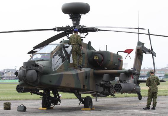 JGSDF AH-64D 74502