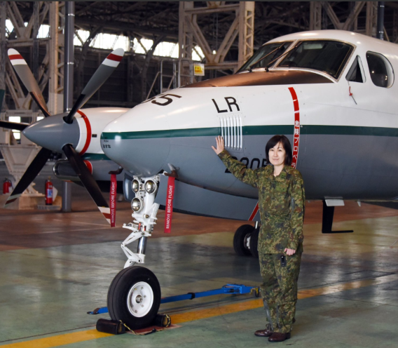 JGSDF LR-2 pilot Ono