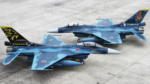 Tsuiki F-2 special markings (2)