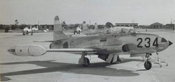 JASDF 16th FTW T-33A