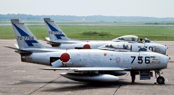 F-86F 7 sq JASDF
