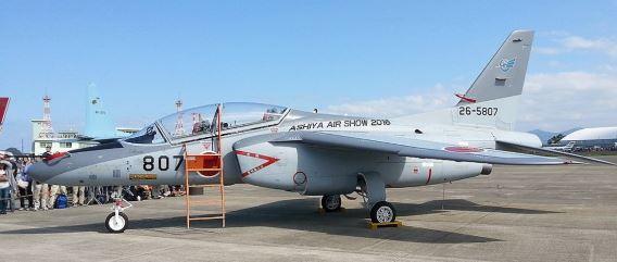 grey T-4 Ashiya 2016