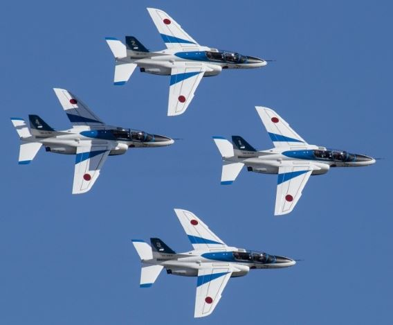Blue Impulse Iwakuni 2017