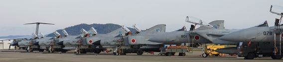 JASDF Gifu flight line